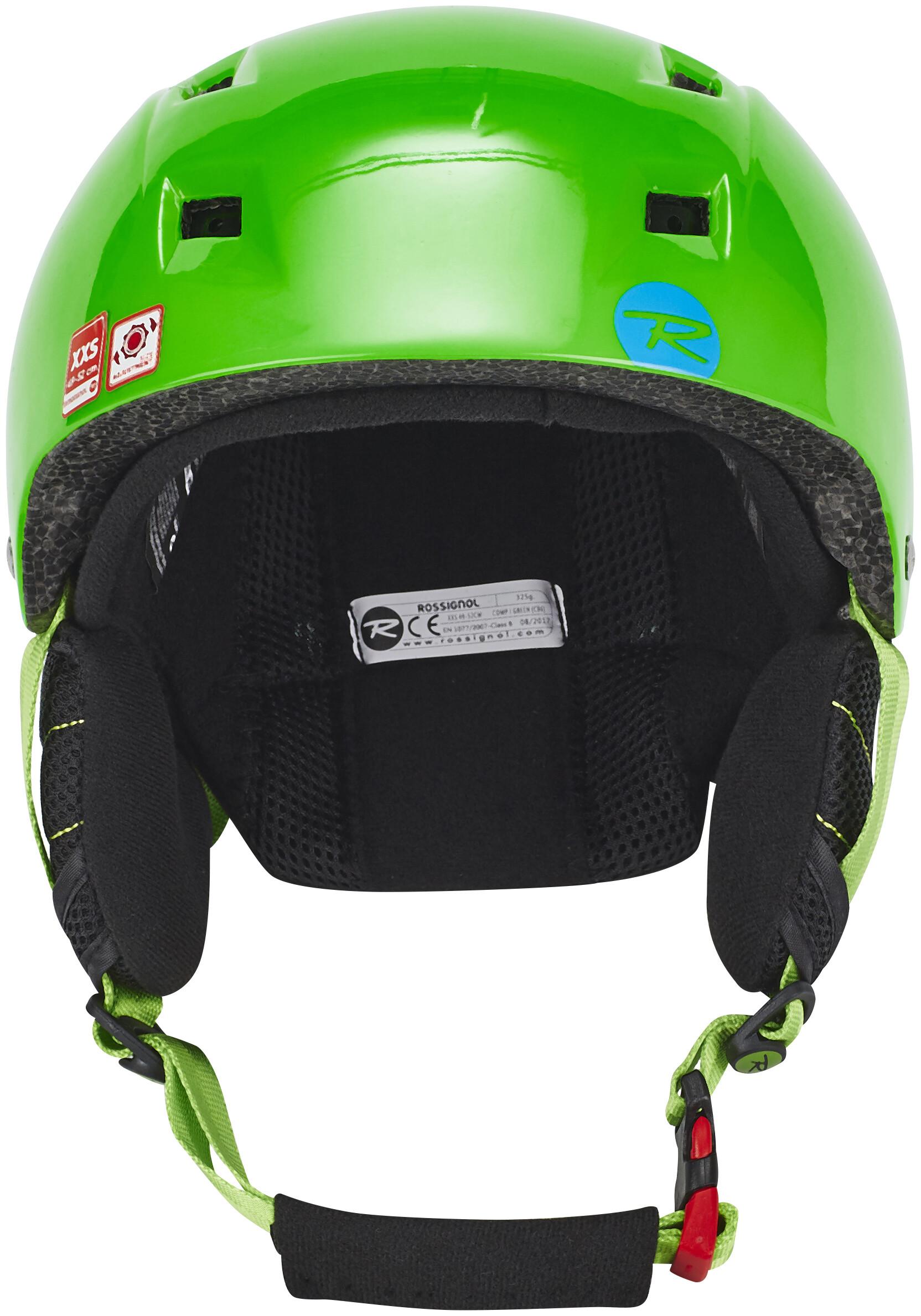 Rossignol Comp J Casco De Bicicleta Ni 241 Os Verde Campz Es